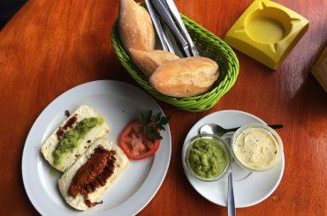 Snack La Palma Queso Asado mit Mojo und Brot