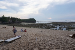 Balangan Beach at low tide