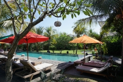Flower Bud Bungalow Balangan at Bangalan Beach (pool view)