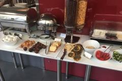 Frühstück im Hotel 35 Rooms in Beirut