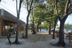 Main street, Gili Meno, Lombok