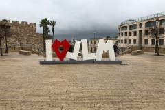 I love Jerusalem (JLM)