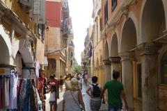 Korfu-Stadt Arkaden