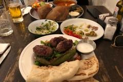 Lunch break in Israel