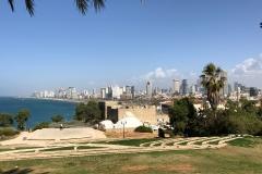 Tel Aviv skyline from Jaffa's Abrasha Park