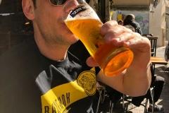 Beer break in Jaffa