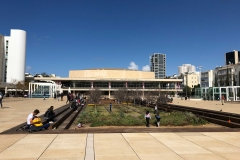 Leonard Bernstein Square in Tel Aviv