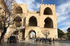 Torres de Serranosa am Plaça dels Furs