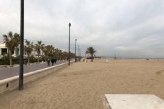 Stadtstrand Valencia