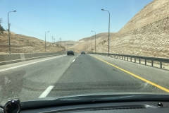 A1 towards Dead Sea